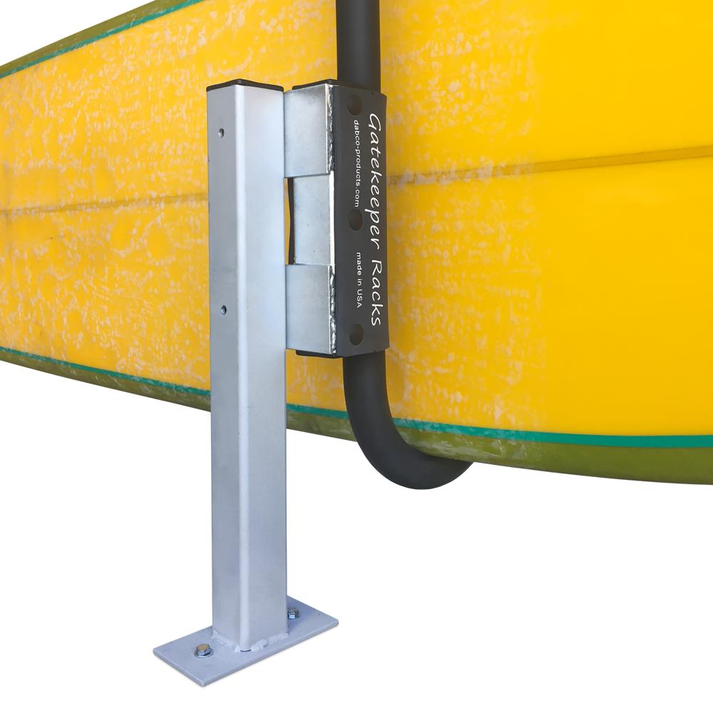 Locking Rack For Paddleboard Dock Amp Deck Base